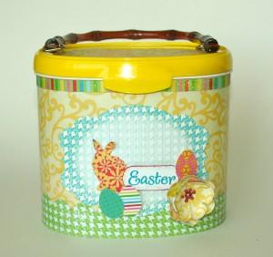 homemade Easter Egg Basket for kids