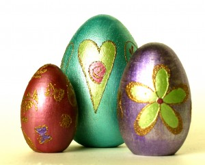 Lumiere Wooden Eggs
