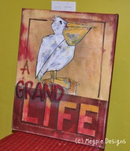 A Grand Life Painting by Megan Maravich