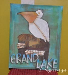 Grand Lake Painting by Megan Maravich