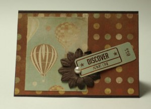 Up Up and Away - Discover Card