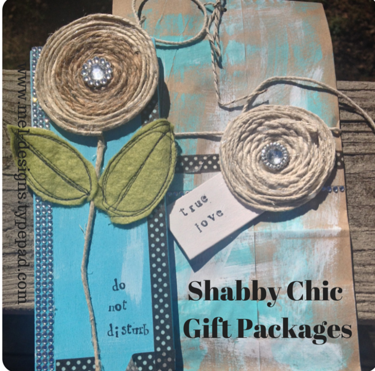 shabby gift paagift packages