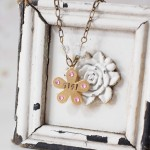 Stamped Baby Girl Necklace - Niki Meiners