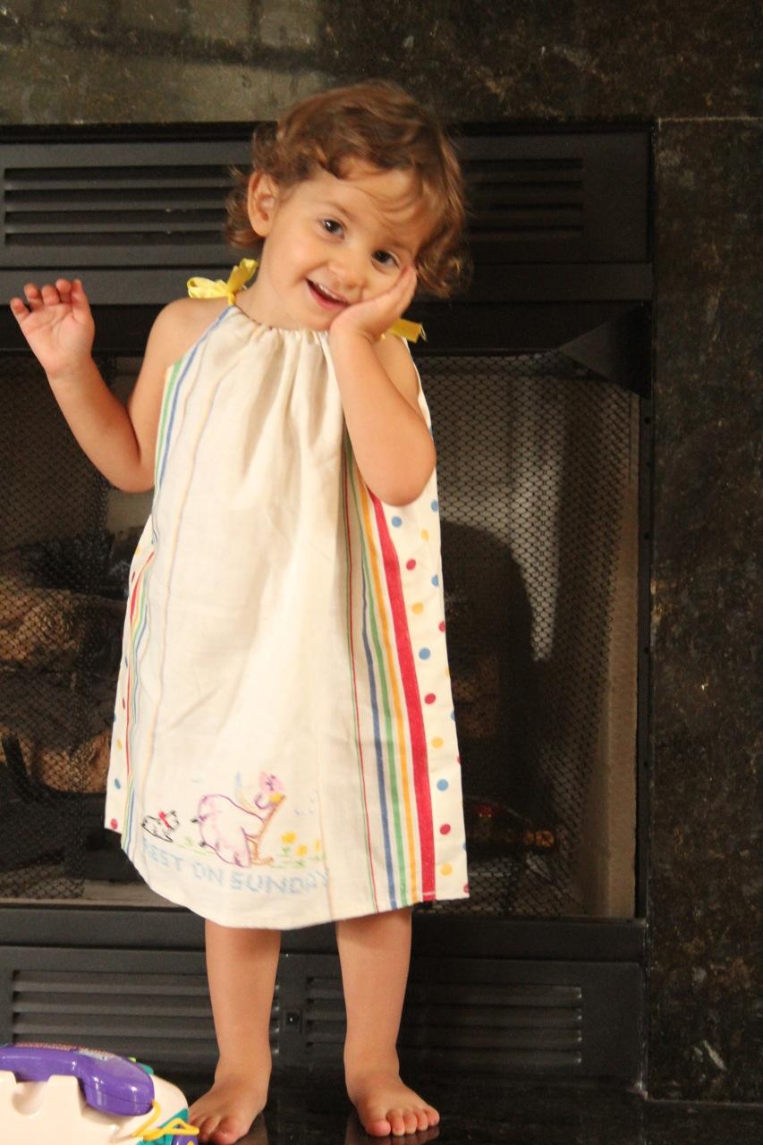 Tea Towel Pillow Case Dress