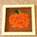 fall pumpkin wall art , autumn colors, harvest art