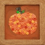 Fall button wall art