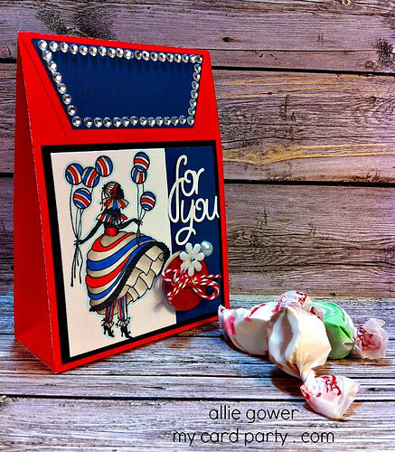 paper crafting, vintage style gift, silhouette projects