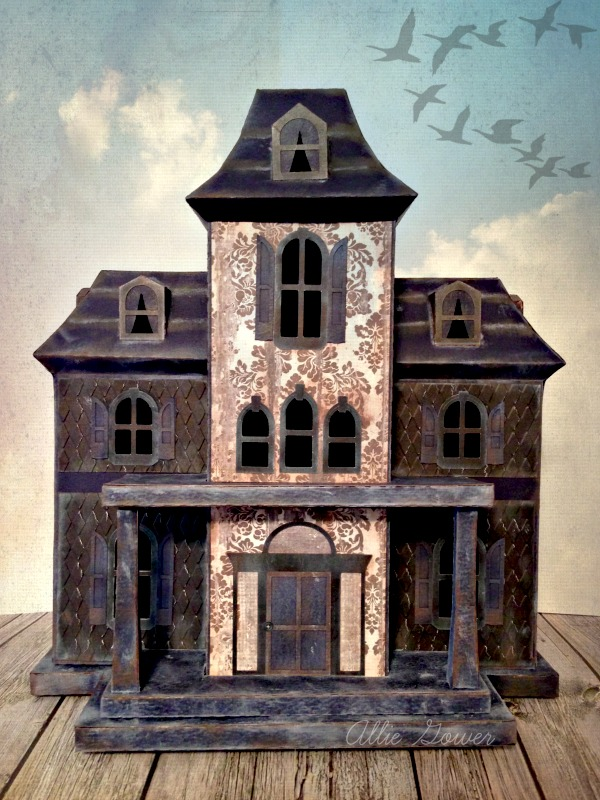 Diy Haunted House A Spooktacular Creation From Cardstock