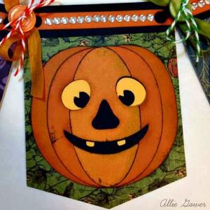 SVG Cuts Cheerful Pumpkin