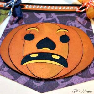 SVG Cuts Grumpy Pumpkin