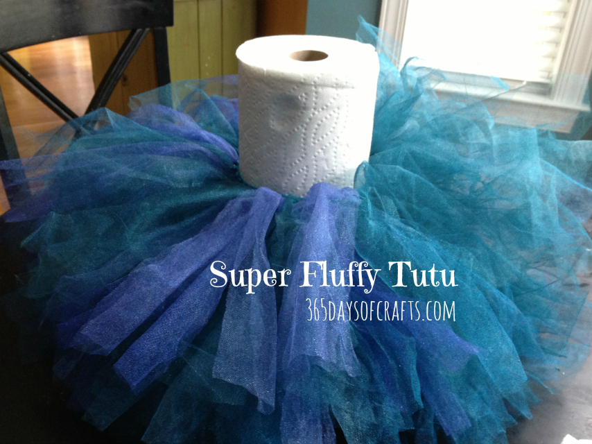 Tutorial for fluffy tutu