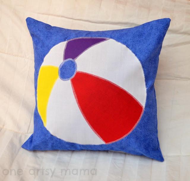 Beach Ball Pillow