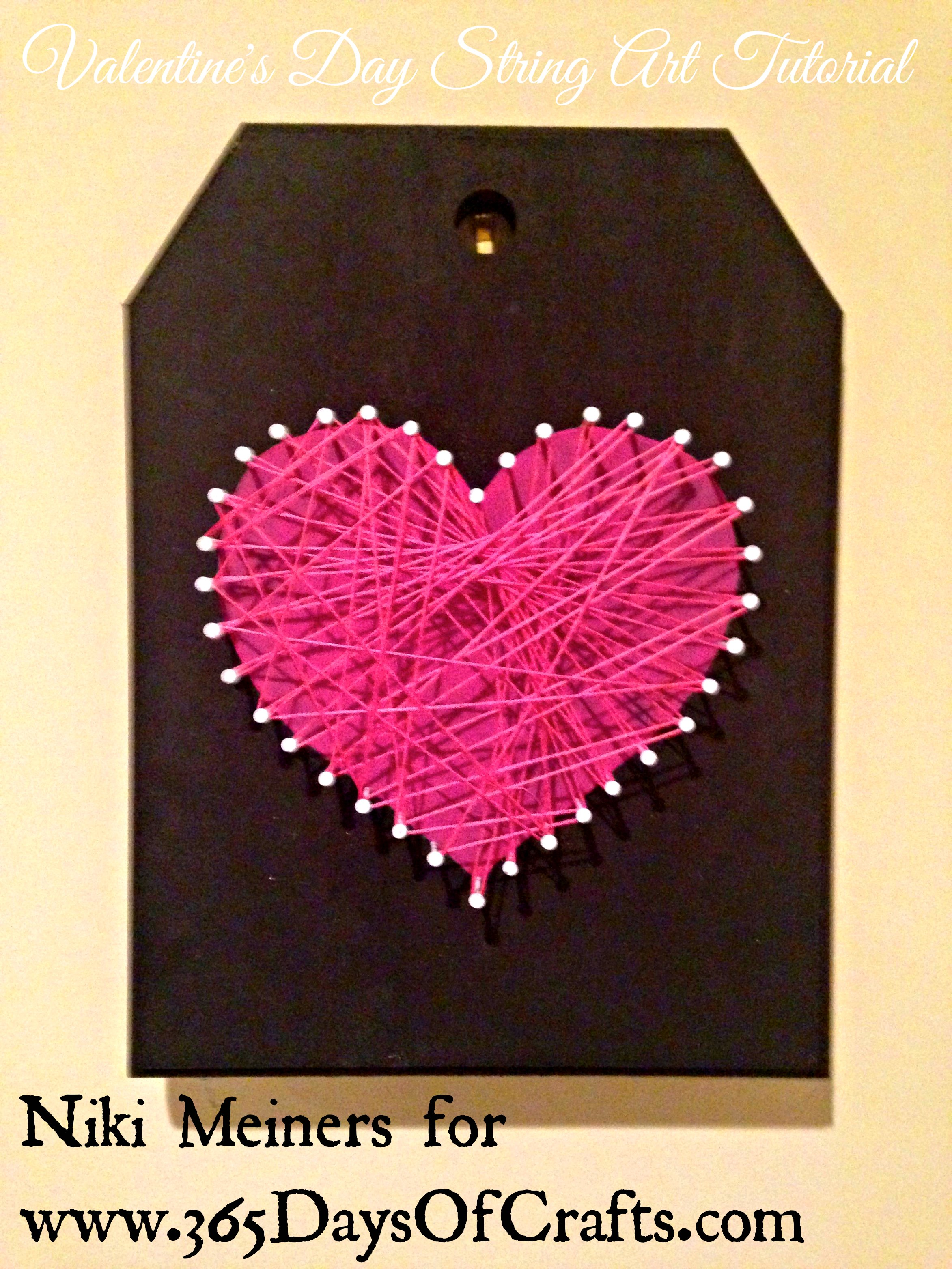 Valentines day heart home decor