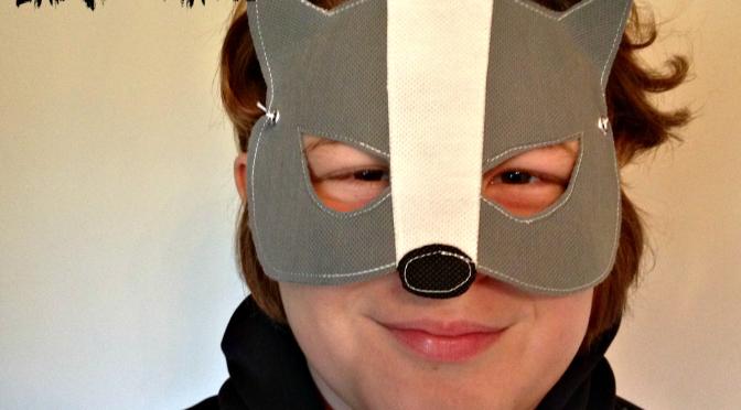 Badger mask easy sew