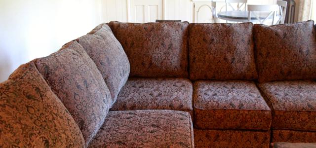 restuffed cushions