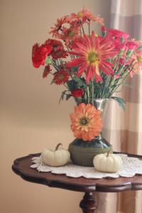 make a fall vase DIY