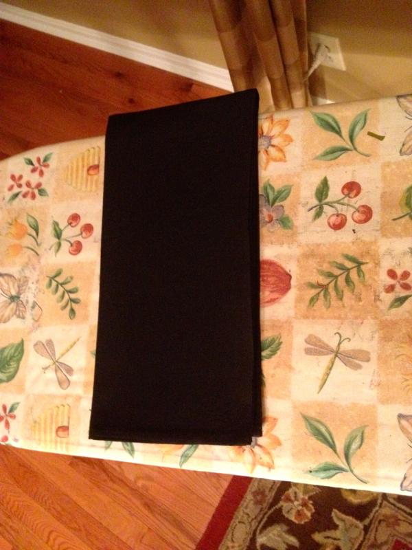 black tea towel