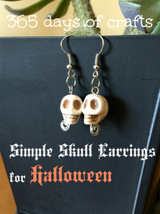 simple Skull earring Tutorial