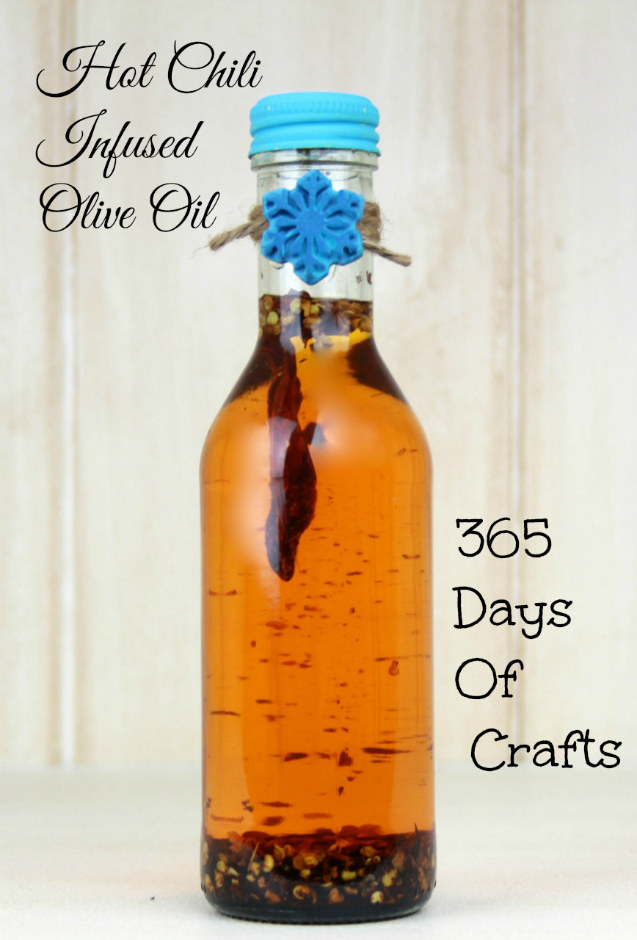 Hot Chili infused Olive Oil 2