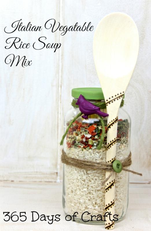 Italian Vegatable Rice 2 soup in a jar