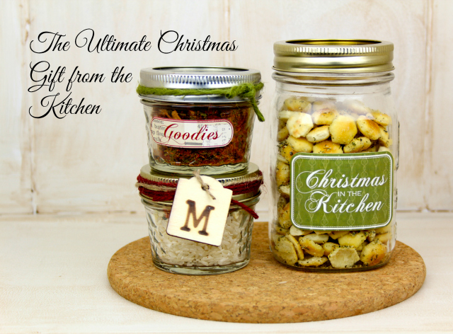 Ultimate handmade christmas gift from the kitchen for Christmas gift ideas from the kitchen