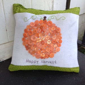 finished-pillow-wrap- happy harvest