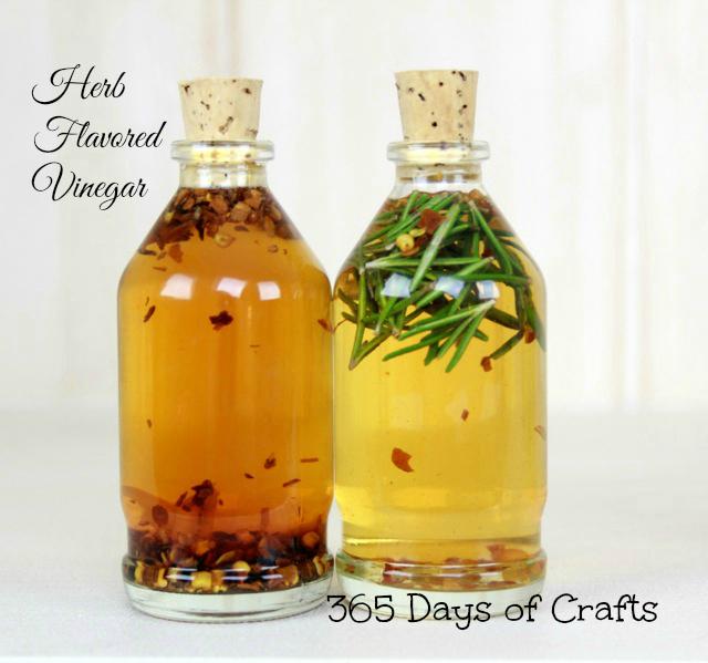 herb infused vinegars.  infused vinegar 2 Herb flavored vinegar recipe