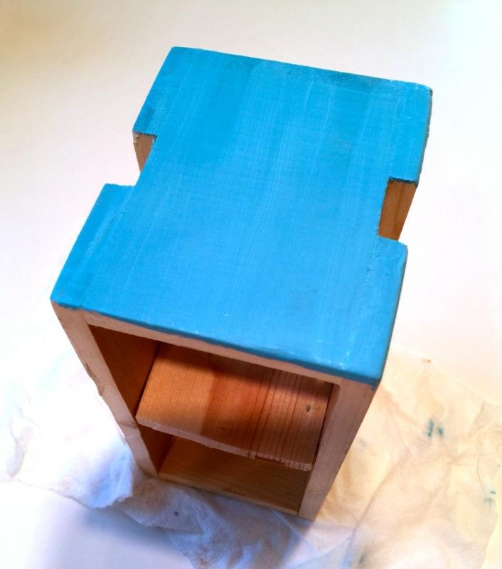 ryobi crate painted