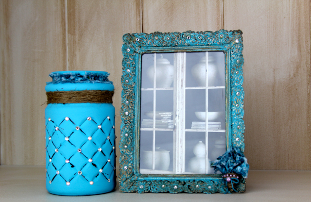 Diy shabby chic or farmhouse chic picture frame for Home decor 365