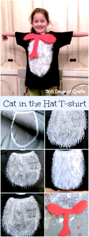 diy cat-in-the-hat-craft idea a painted t shirt Pinterest