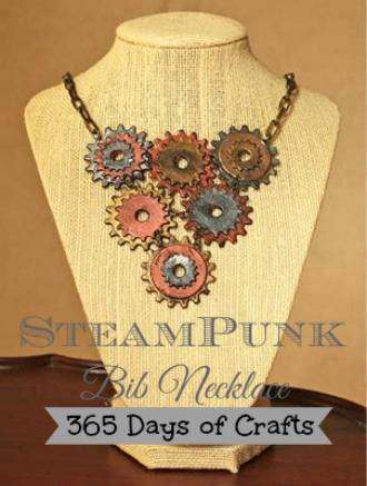 steampunk bib necklace  instructions 1.2