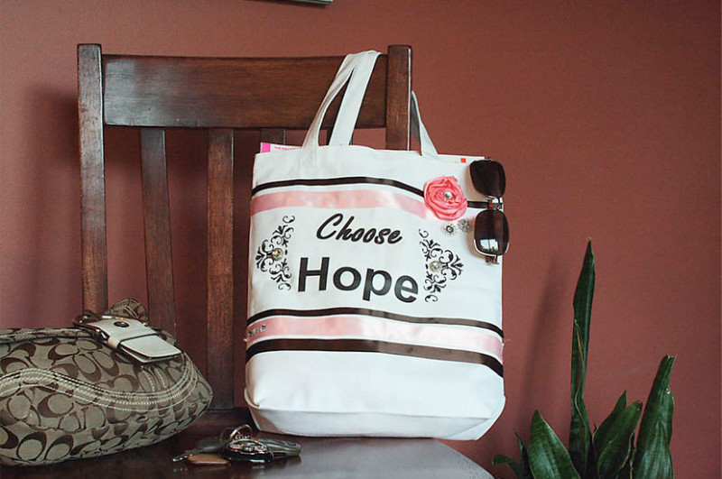 chose hope bag