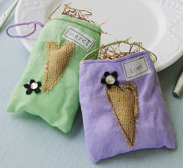 Dyed Muslin Favor Bags 365 Days Of Crafts Amp Inspiration