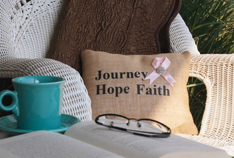 journey hope faith pillow hope faith pillow