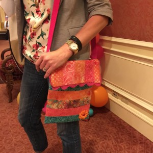 decorative trimmings shoulder tote