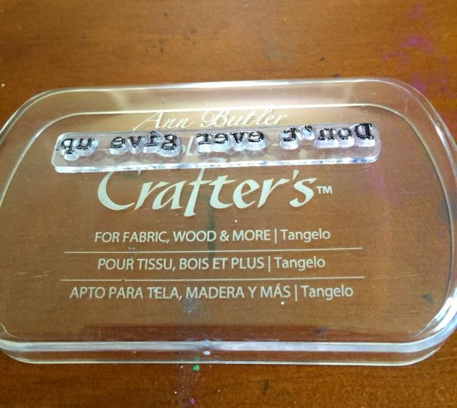 ann butler ink pad lid