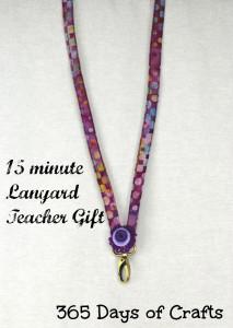 15 minute teachers gift lanyard 2
