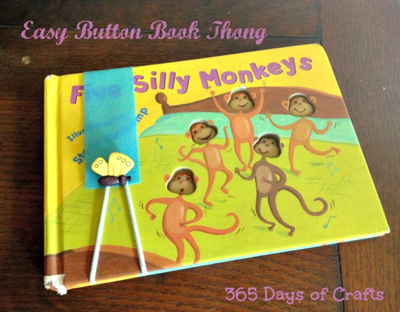 Easy Book Thongs book thong butterfly