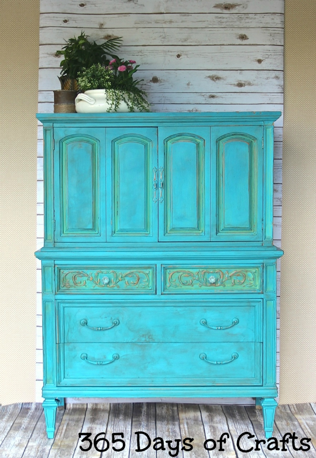 Dresser Makeover With Chalk Paint 365 Days Of Crafts