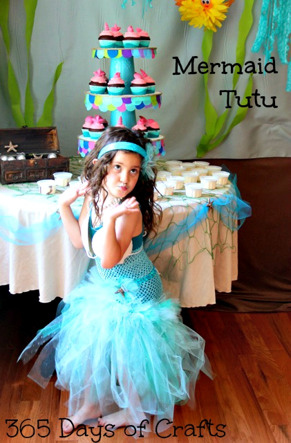 mermaid tutu