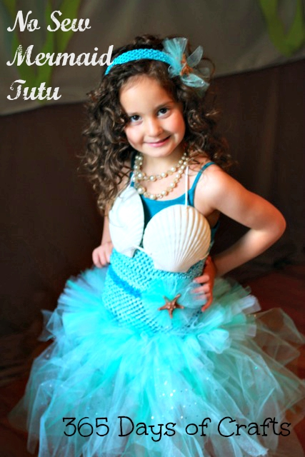 no sew mermaid tutu tutorial tall