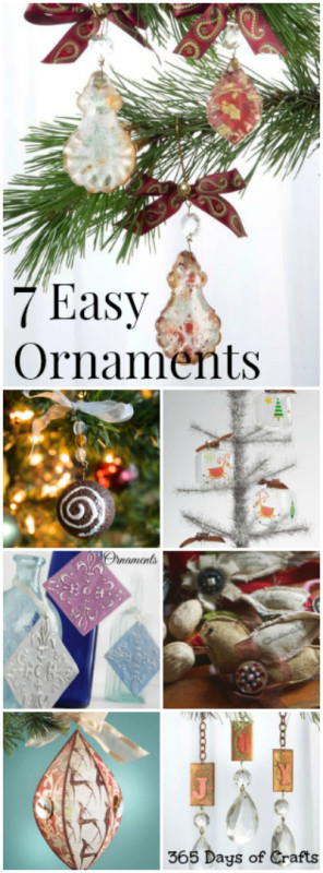 7 easy ornaments to make
