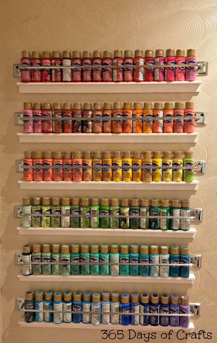 Craft room storage ideas and tour inspiration for everyday - Storage ideas for small office spaces paint ...