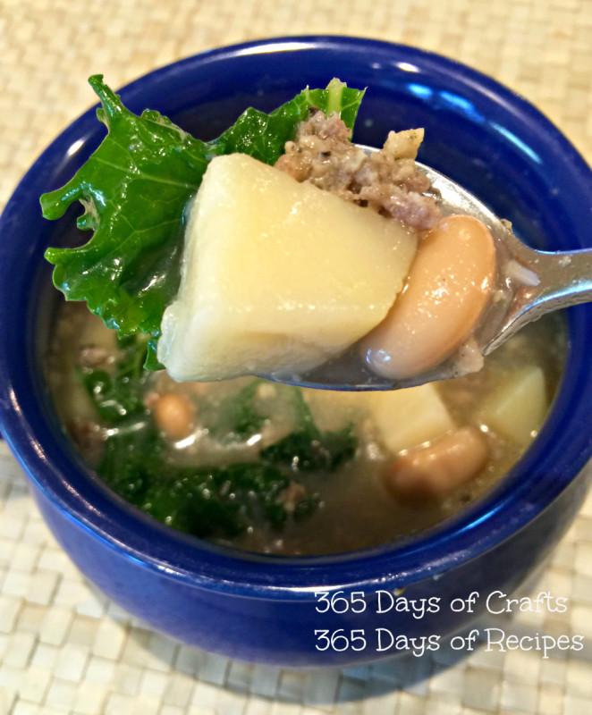 Italian Potato Kale Soup