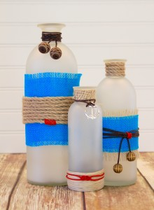DIY nautical vases and jewelry