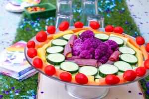 rainbow food idea