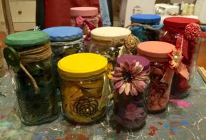 creativity in a jar a recycled craft idea