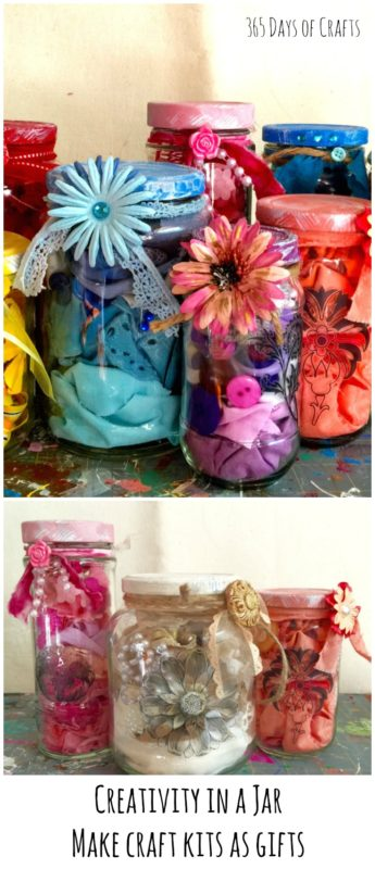 craft kits creativity in a jar